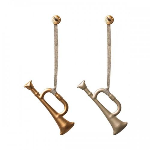 Trompeta decoración metal