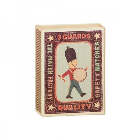 Soldado decoración Metal en caja (3u.)