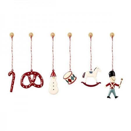 Metal Ornament Box 6 units - Classic