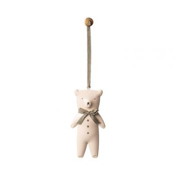Ornament Teddy Bear - Metal