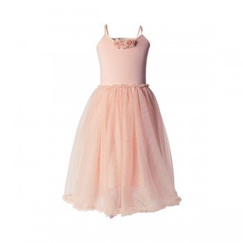 Ballerina dress rose - Size 4/6 years
