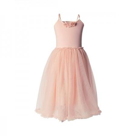 Ballerina dress rose - Size 4/6 years