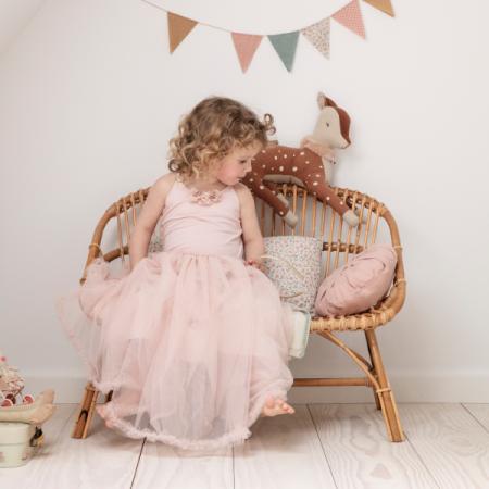 Disfraz vestido princesa bailarina rosa - Talla 6/8 años