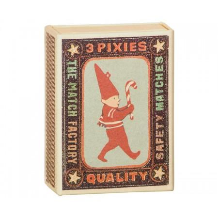 Ornament Box with metal pixies (3u)