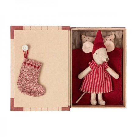 Christmas mice in book - Big Sister