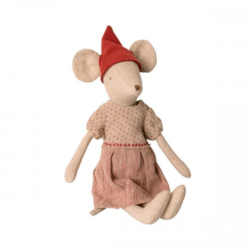 Christmas mouse girl - Medium