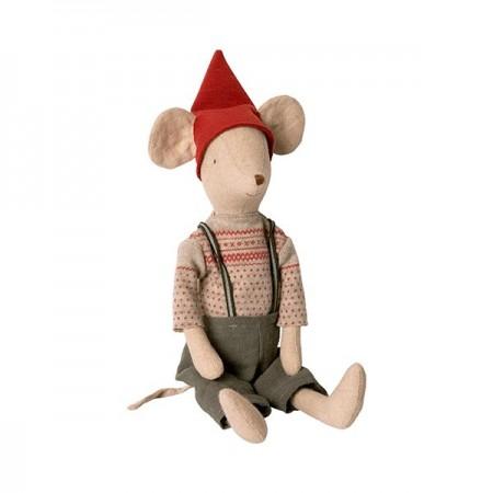 Christmas mouse boy - Medium