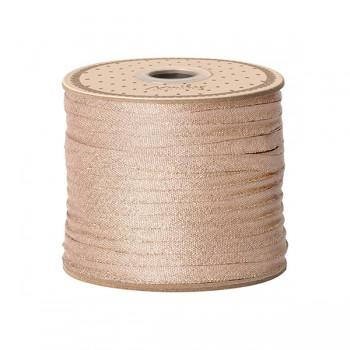 Ribbon 25m - Rose/Lurex