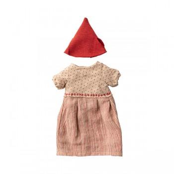 Christmas clothes mouse girl - Medium