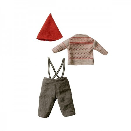 Christmas clothes mouse boy - Medium