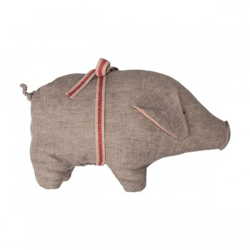 Muñeco Cerdito gris - Medium