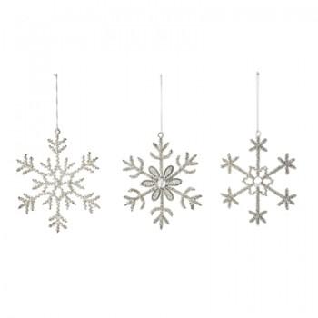 Vintage Ornaments Silver