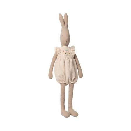 Conejito Rabbit con Peto en Blanco Roto - T5