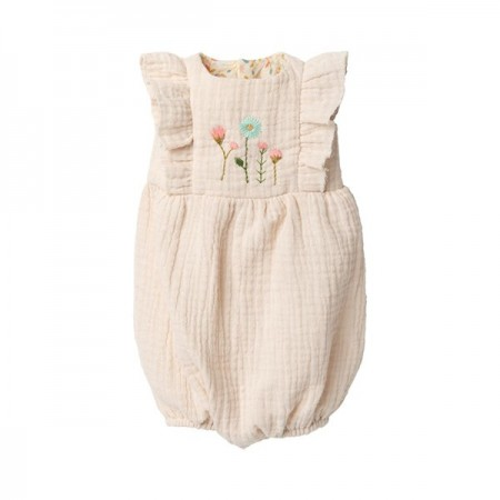 Rabbit Jumpsuit Off White - size 5