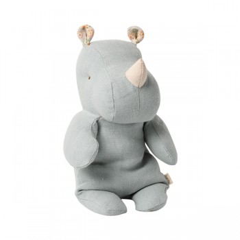 Rhino Safari friends, Blue/Grey- Small