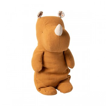 Hippo Safari friends, Ocher - Medium