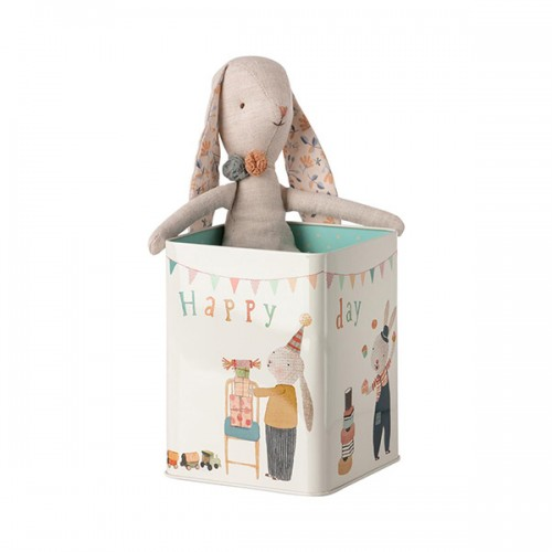 Happy Day Bunny in box - Medium