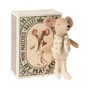 Dancer in Matchbox - Little Brother Mouse