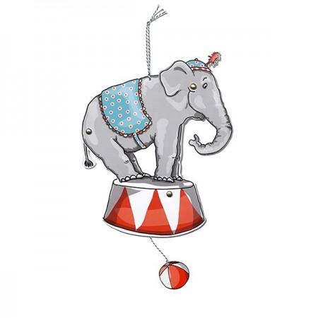 Móvil de Papel - Elefante
