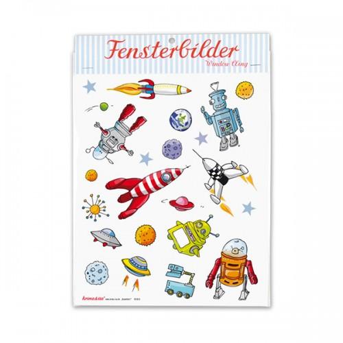 Window Stickers - Space Travel