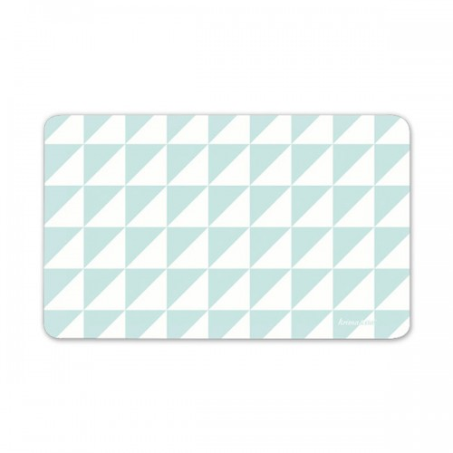 Cutting Board - Triangles Turquoise