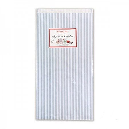 Gift-Bags Stripes Blue - Big
