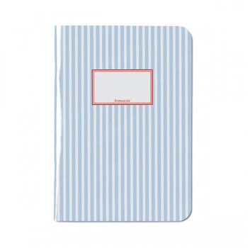 Journal A5 - Stripes Blue