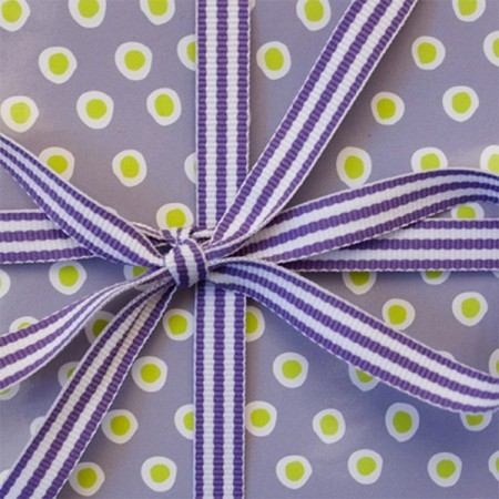 Ribbon Stripes - Purple