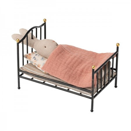 Vintage Bed Anthracite - MY