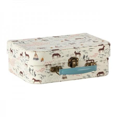 Suitcases w. Fabric (2u.)