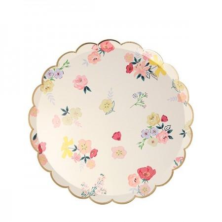 English Garden Side Plates (8u)