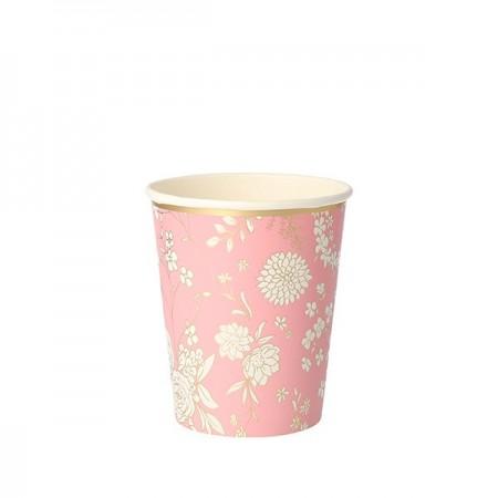 English Garden Party Cups (8u)