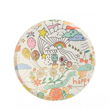 Happy Doodle Side Plates (8u)