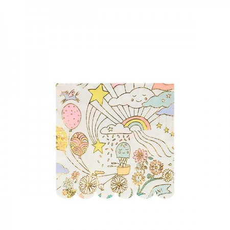 Happy Doodle Small Napkins (16u)
