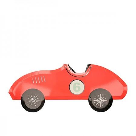 Race Car Plates (8u)