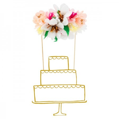 Ramo de Flores Top Cake