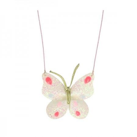 Collar de Mariposa Brillante