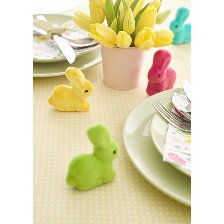 Five Rainbow bunnies