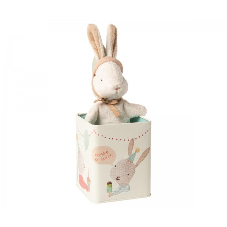 Happy Day Bunny in box - Small