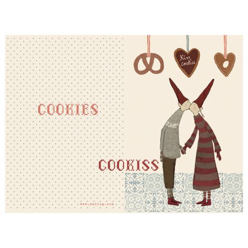 Coo-Kiss, double card