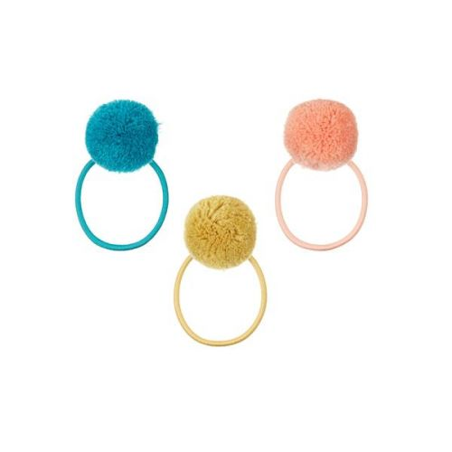 Pom Pom ponies, dark multi (Pack of 2)