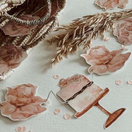 Roses Garland (3m)