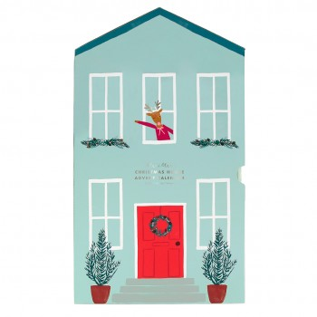 Festive House Paper Craft Advent Calendar