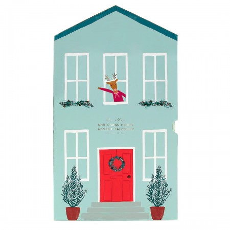 Festive House Paper Craft Advent Calendar