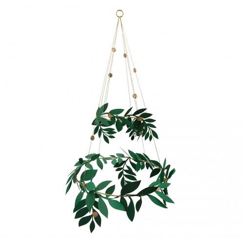 Festive Foliage Chandelier