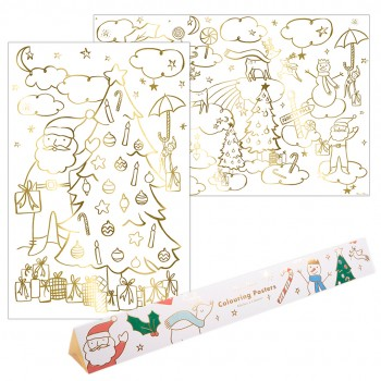 Christmas Colouring Posters