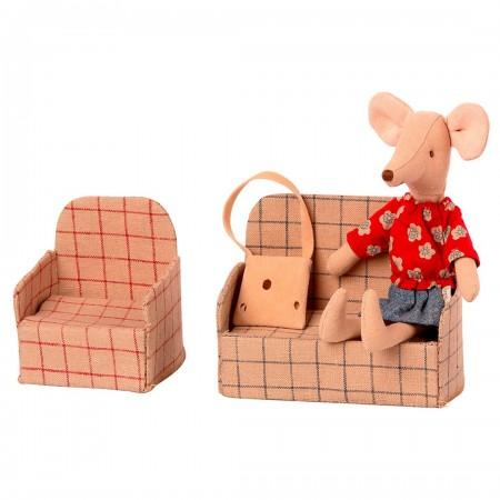 Sillón de miniatura para ratoncitos