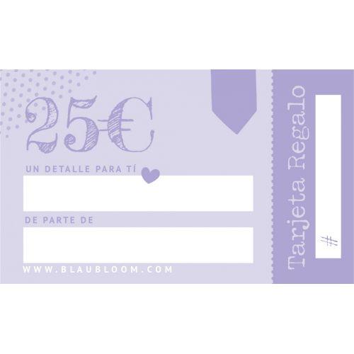e-Tarjeta regalo 25€