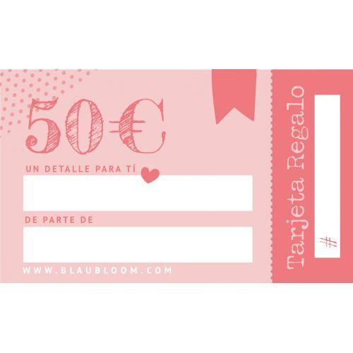 e-Tarjeta regalo 50€