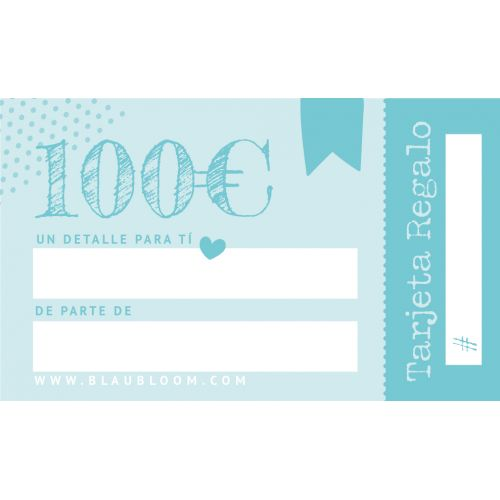 e-Tarjeta regalo 100€